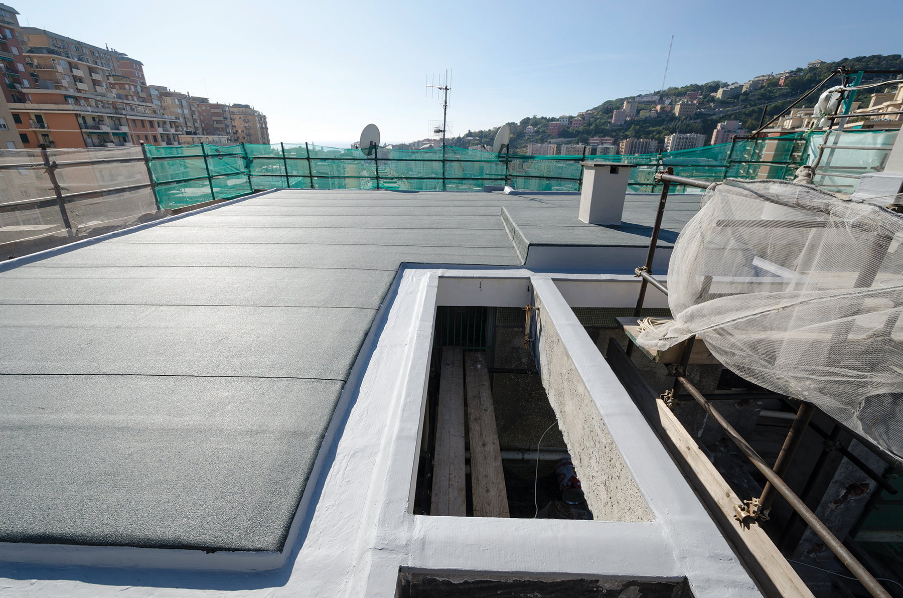 ARA Building - Roof, Floor and Wall Membrane