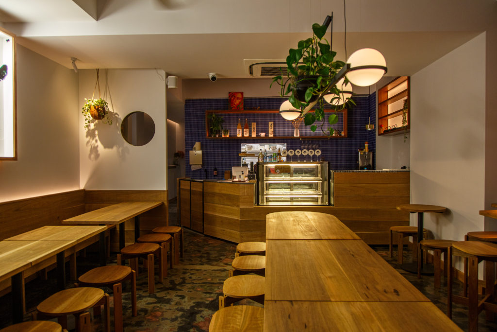 finished restaurant fit-out Neko Neko Newtown
